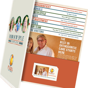 orthodontic practice print collateral services