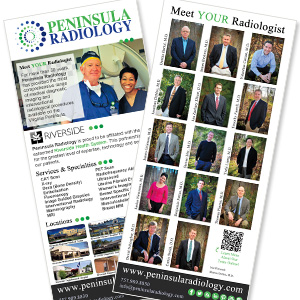 medical practice print collateral