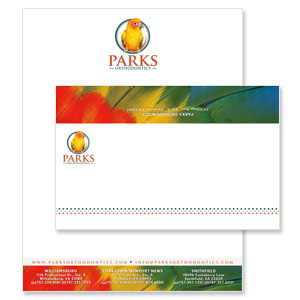 orthodontic practice print collateral