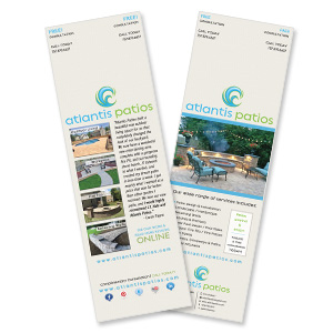 patio design print collateral