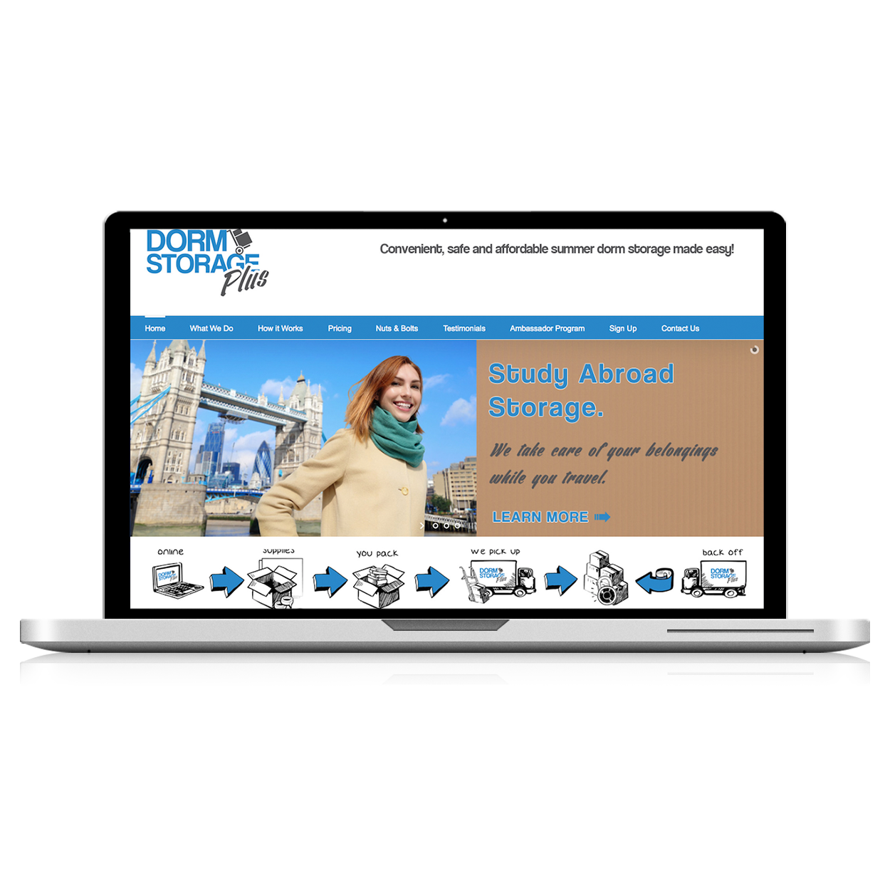 storage facility website design services