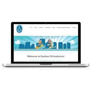 orthodontic practice website design services