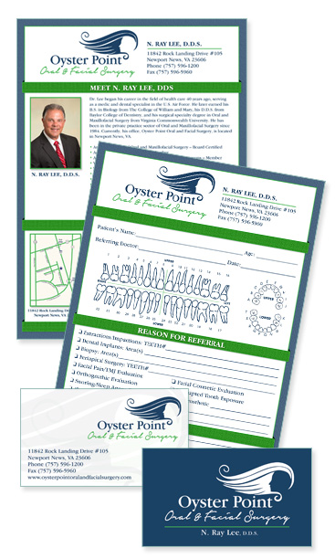 surgical practice print collateral design services