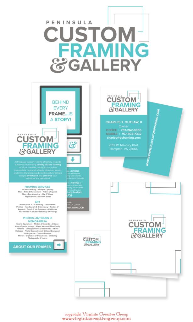 Peninsula Custom Framing - Virginia Creative Group Clients