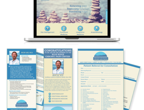 Blue Ridge Chronic Pain Center Branding