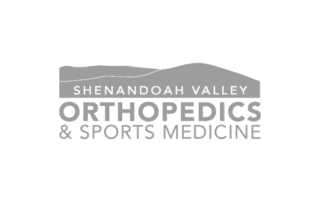 Shenandoah valley orthopedics & sports medicine logo by VCG